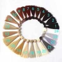 10pcslot hot sale bjd hair accessories straight doll hair synthetic fiber diy doll hair wig 15cm 25cm