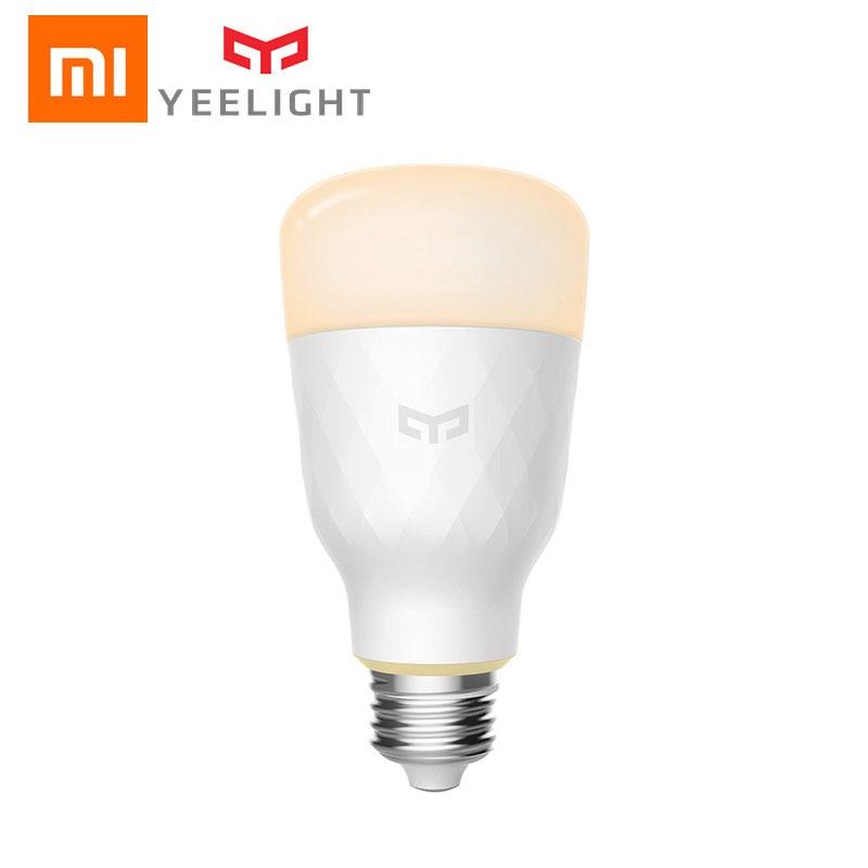 Tira de luces LED Xiaomi Yeelight E27, tira inteligente de luces LED blanca RGB de colores de 10W con 800 lúmenes y Control remoto para APP Mi Home