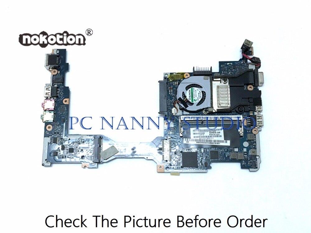 مربية لشركة أيسر أسباير واحد D255 اللوحة الرئيسية MBSDH02001 PAV70 LA-6421P DDR3 N455 مع مروحة اختبارها