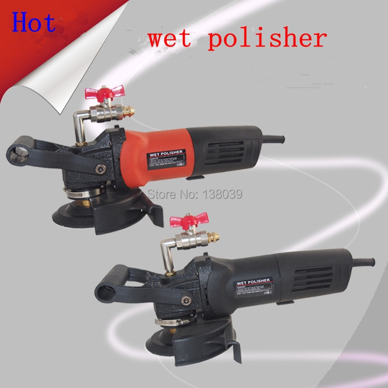Electric stone wet polisher 4''and 5'' variable speed hand grinder enlarge