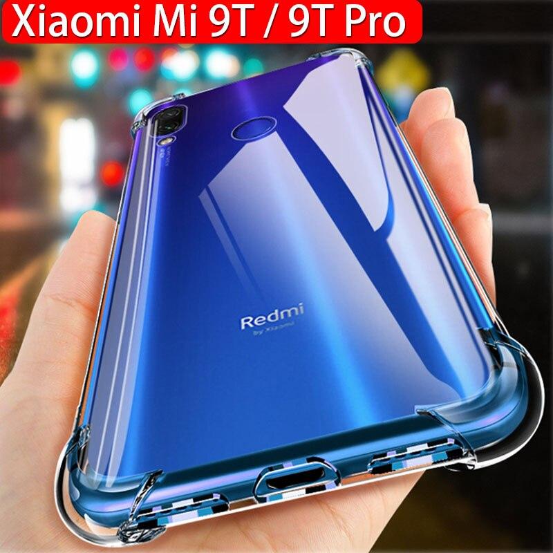 Anti-shock Case For Xiaomi Mi 9T Mi 9 T Case Slilcone TPU Xiaomi Mi 9T Pro Case Transparent Clear Protective Mi 9T Cover