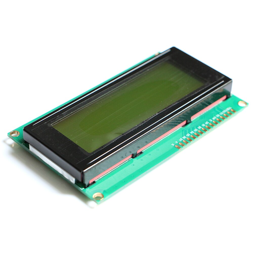 Free shipping 20pcs/lot LCD Board 2004 20*4 LCD 20X4 5V Yellow screen blacklight LCD2004 display LCD module LCD 2004
