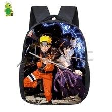 Anime Naruto Backpack Kids Baby Toddler School Bags Cartoon Naruto Sasuke Kakashi Kindergarten Backpacks Children Best Gift
