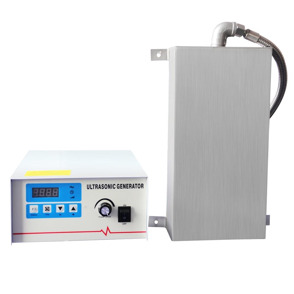 Placa de vibración de baño ultrasónico Industrial 1500W transductor engranaje carburador cadenas placa de circuito DPF molde arandela ultrasónica