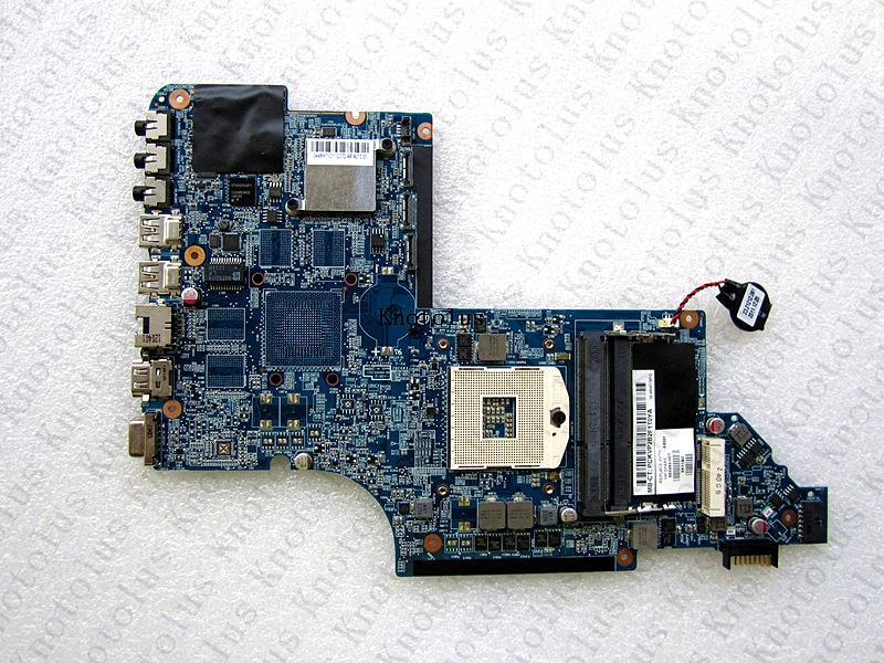 665993-001 para HP pavilion DV7 DV7-6000 placa base de computadora portátil envío gratis 100% prueba bien hm65 DDR3