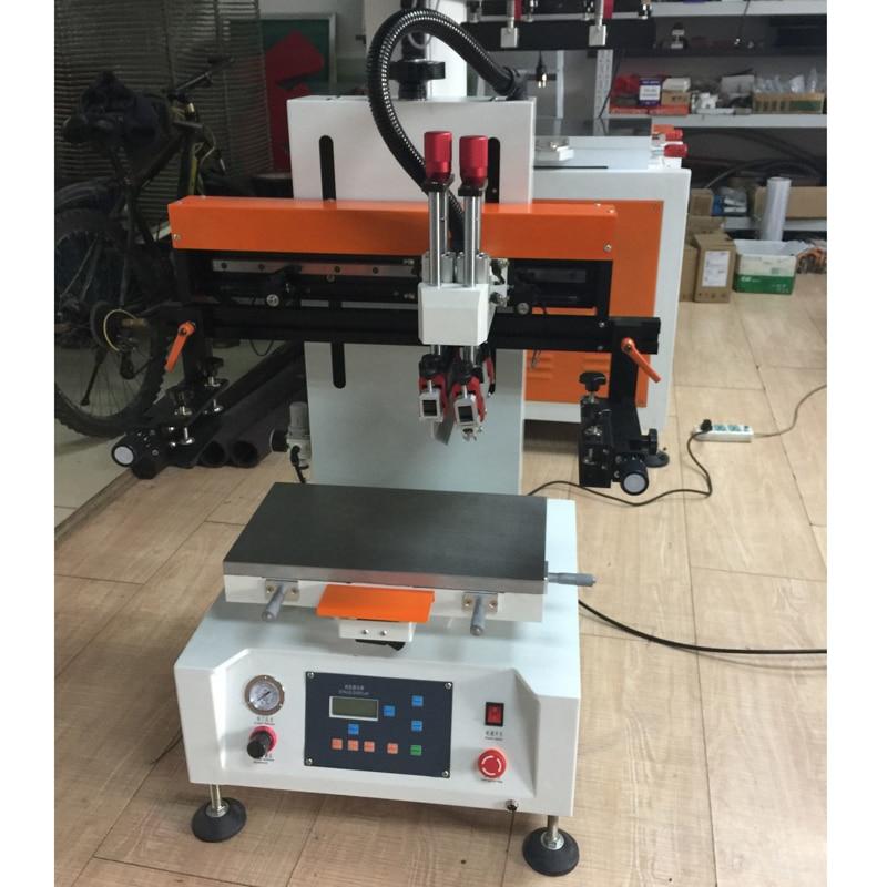 Máquina de impresión serigráfica pcb
