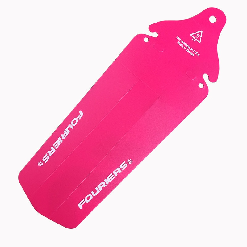 1 Uds. Fouriers AC-MG002-R bicicleta rosa, asiento trasero, guardabarros para bicicleta MTB DH, guardabarros Poly