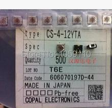 SMD 4 DIP apertura A6H-4101 negro oro pin 1,27 MM genuino grado original