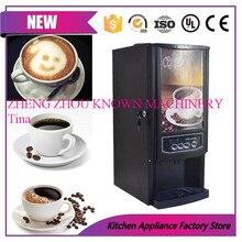Mini cafetera automática instantánea de 3 bebidas diferentes, máquina expendedora comercial de bebidas, zumo de fruta, máquina de leche de té