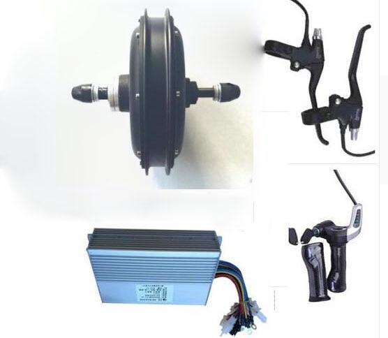 1500W 48V bicicleta electrica bicicleta de motor de cubo de rueda de...