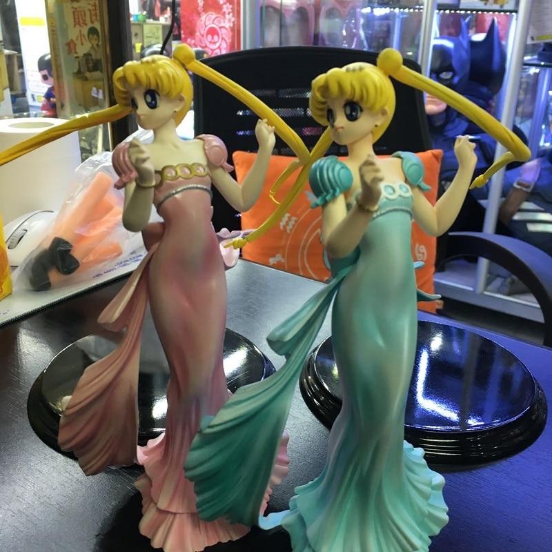 2 cores nova chegada sailor moon tsukino usagi princesa serenidade 20cm modelo menina sexy coleção boneca japão anime figura de ação