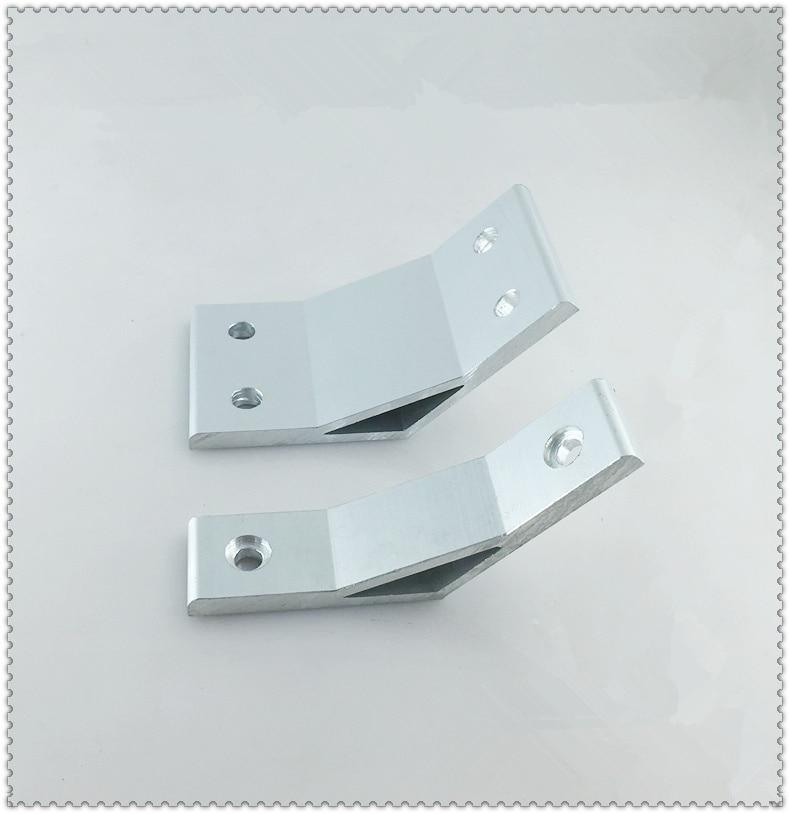 Приспособление для углового кронштейна с углом поворота 135 градусов для алюминиевого профиля 4040 1 шт.