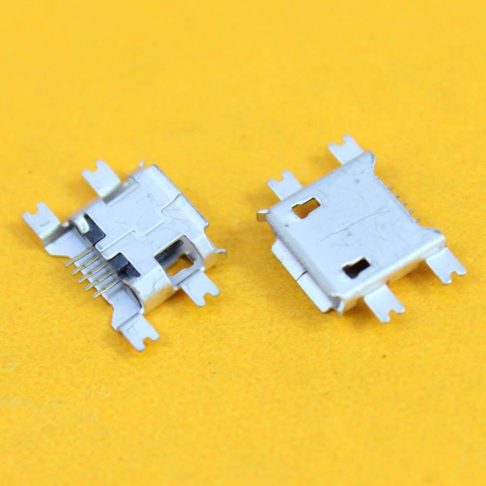 Mini Conector Micro usb conector hembra para Blackberry/Lenovo/OPPO/ZTE V880 U880 N880S N760 para huawei C8650 Y220-5pin