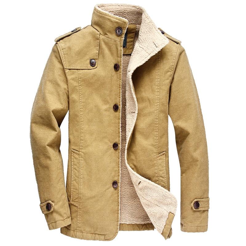 2018 Winter Classic coats Men's thicken casual high quality jacket men,Fashion 100% cotton jackets men jk087