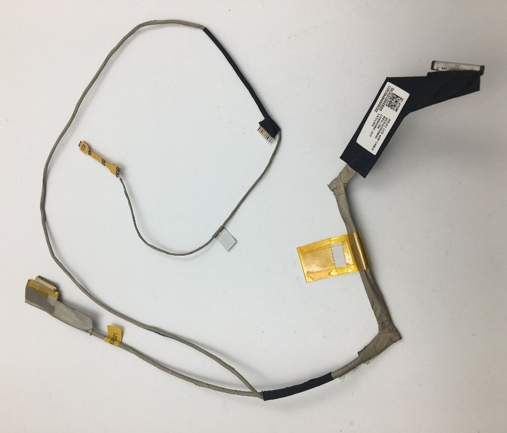 WZSM Wholesale New LCD Flex Video Cable for  Lenovo Thinkpad E440 laptop cable P/N DC02001VDB0