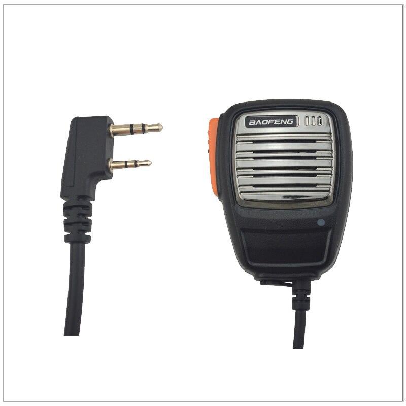 2017 chegada nova baofeng alto-falante microfone mão mic para walkie talkie UV-5R UV-5RE plus BF-888S UV-B5 UV-B6 UV-5RA, UV-5RB