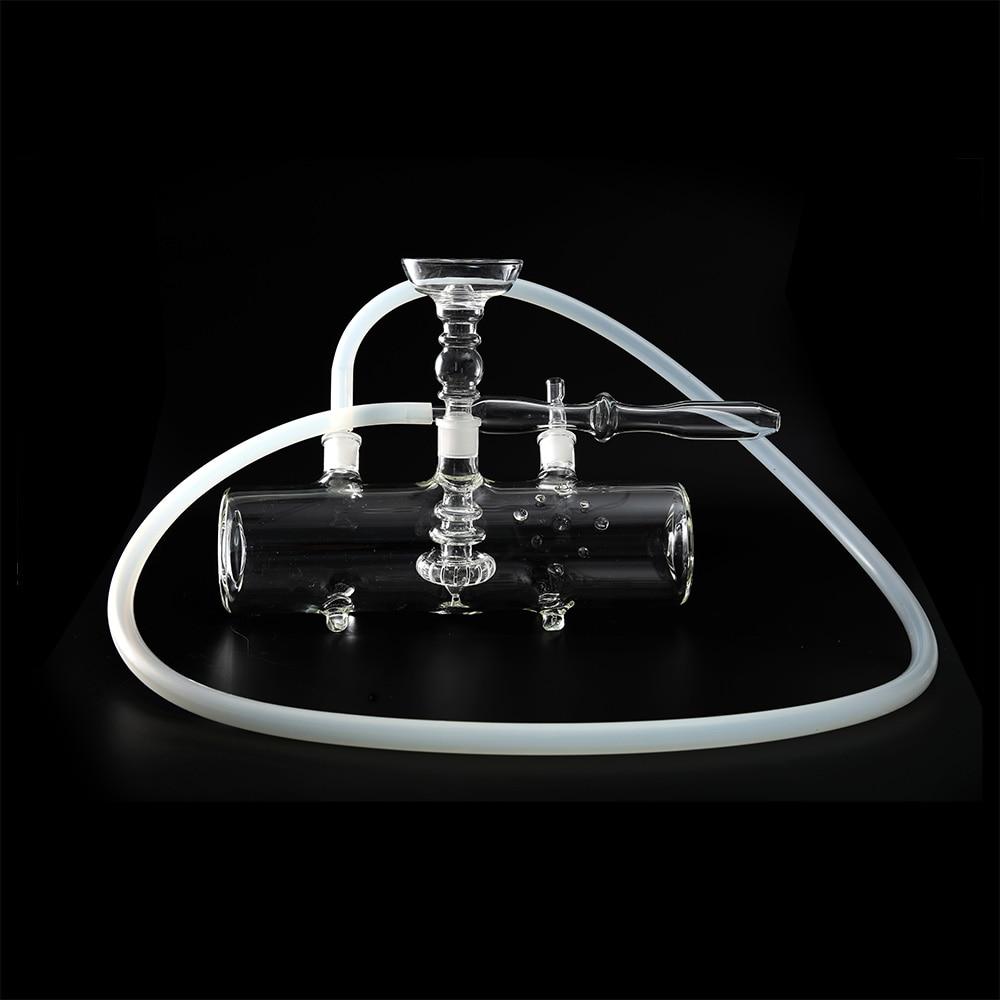 Dia 80MM MP5 Tank Glass Shisha Hookah Water Pipes Metal Charcoal Holder Silicon Bowl Set Sheesha Shesha enlarge