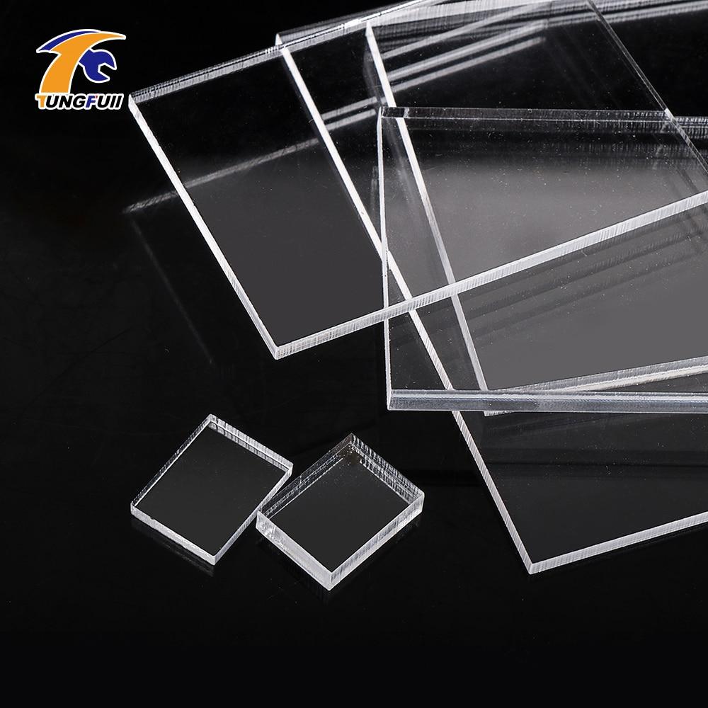 Hoja acrílica de 3mm 5mm de espesor placa transparente de plástico acrílico plexiglás hoja transparente placa transparente de plástico