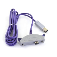 10 pièces 2 lecteur lien câble connecter cordon pour GC à pour Gameboy Advance GBA SP