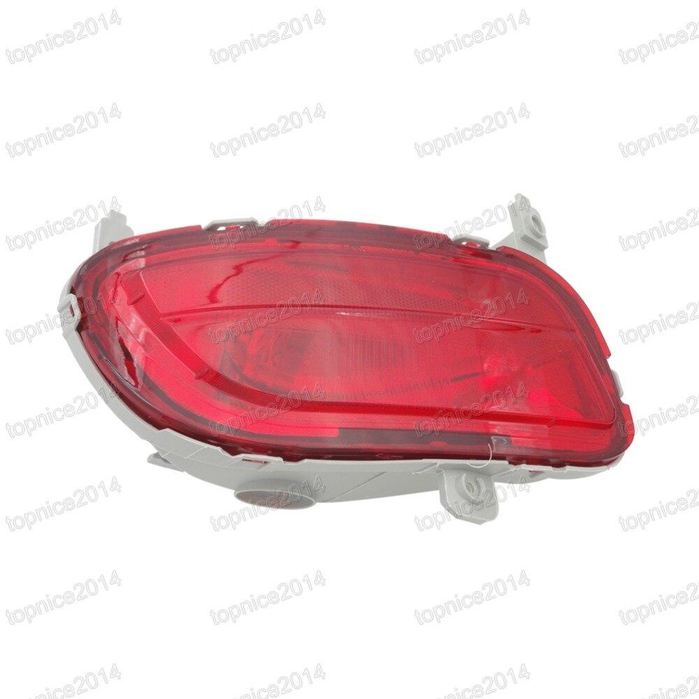 1 шт. левая сторона новый красный задний бампер противотуманная фара CD85-51-660 для Mazda 5 2008