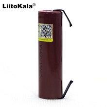 Liitokala 100% 새로운 HG2 18650 3000mAh 재충전 전지 18650HG2 3.6V 출력 20A 힘 건전지 + DIY 니켈