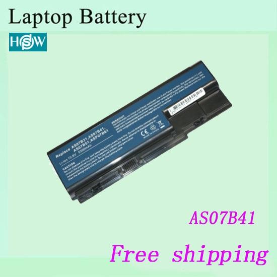 Laptop Battery AK.006BT. 019 AS07B31 AS07B41 AS07B51 AS07B61 LC. BTP00.008 LC. BTP00.014 Para Acer Aspire 5220 laptop baterias