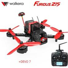 Walkera Furious 215 RTF + DEVO 7  transmitter With 600TVL Camera F3 Flight Control RC Quadcopter Rac