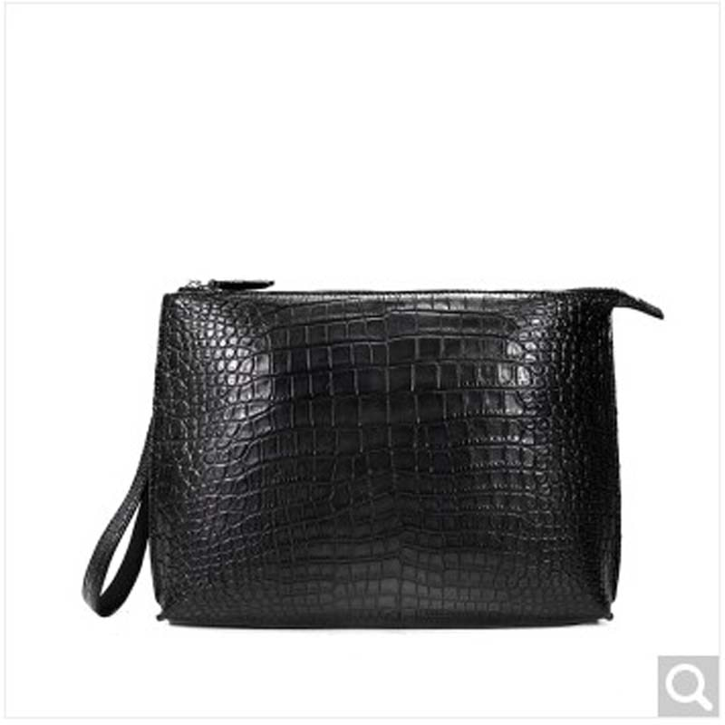 weitasi nile crocodile leather  man clutch bag men bag the square envelope crocodile skin complete without stitching new men bag