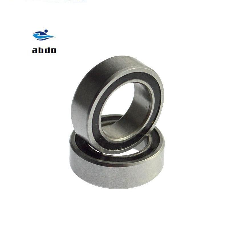 10 Uds alta calidad ABEC-5 624 2RS 624RS 624-2RS 624 RS 4x13x5mm doble sello de goma rodamiento rígido de bolas