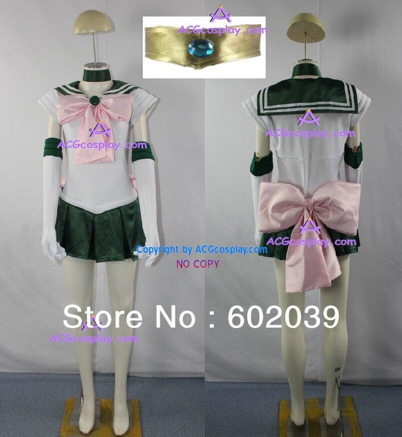 Sailor Moon Sailor Júpiter Lita Kino Cosplay traje ACGcosplay