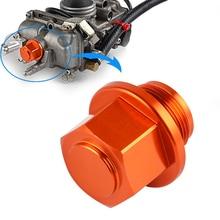 Fcr Mx Carburateur Carb Carteraftapplug Voor Ktm 250 450 505 530 Yamaha YZ250F YZ450F Yz 250F Motorfiets Atv olie Putdeksel Schroef