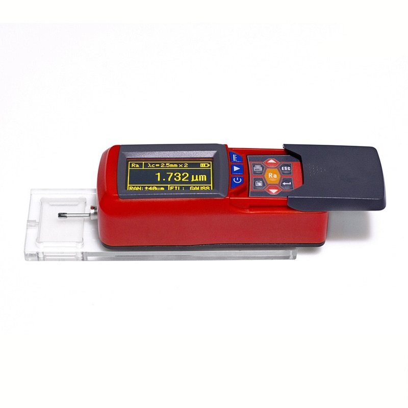 جهاز اختبار خشونة السطح الرقمي المحمول Leeb432 ، مقياس السطح الدقيق مع مؤشر RA RZ 13