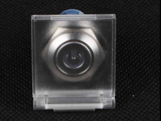 Металлический кнопочный переключатель 16 мм для предотвращения неисправностей, прозрачная Защитная крышка для открытия выключателя