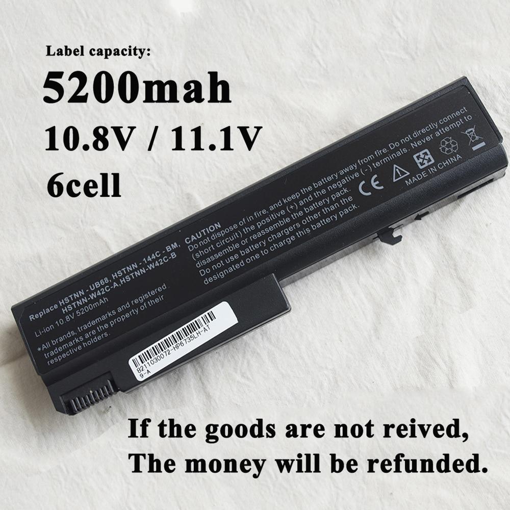 6 celdas de batería del ordenador portátil para HP batería 6500b 6530 HSTNN-IB69 6540B TD06 TD09 482962-001 HSTNN-IB68 HSTNN-CB69