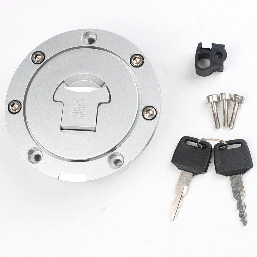 Tapa de tanque de combustible con llave de bloqueo para Honda CBR600RR 2003-2014 CBR900RR CBR929 CBR954 2000-2003 CBR1000RR 2004-2014