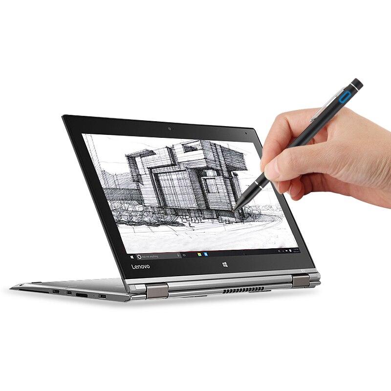 Pluma Active pantalla táctil capacitiva para Lenovo YOGA 720, 710, 920, 910, 900s 6 7 Pro 5 4 ThinkPad nuevo S3 S2 S1 X1 funda de portátil
