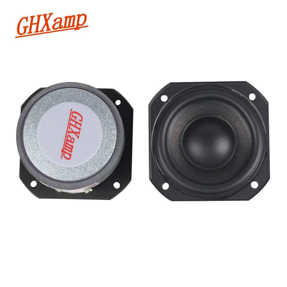 Altavoz portátil de rango completo para 2 pulgadas, altavoz de bajos mediantes con Bluetooth, 4 ohm, 10-20 W, 2 uds