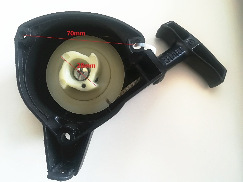 Pull Recoil starter 4T легкий стартер для mitsubishi TU26 TU23 TL26 TL23 опрыскиватель для лужайки косилки триммер опрыскиватель перемотка стартера