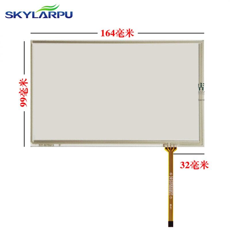 Skylarpu pantalla táctil de 7 pulgadas para el coche GPS DVD 164*99mm pantalla táctil de cristal digitalizador de pantalla escrita a mano envío gratis