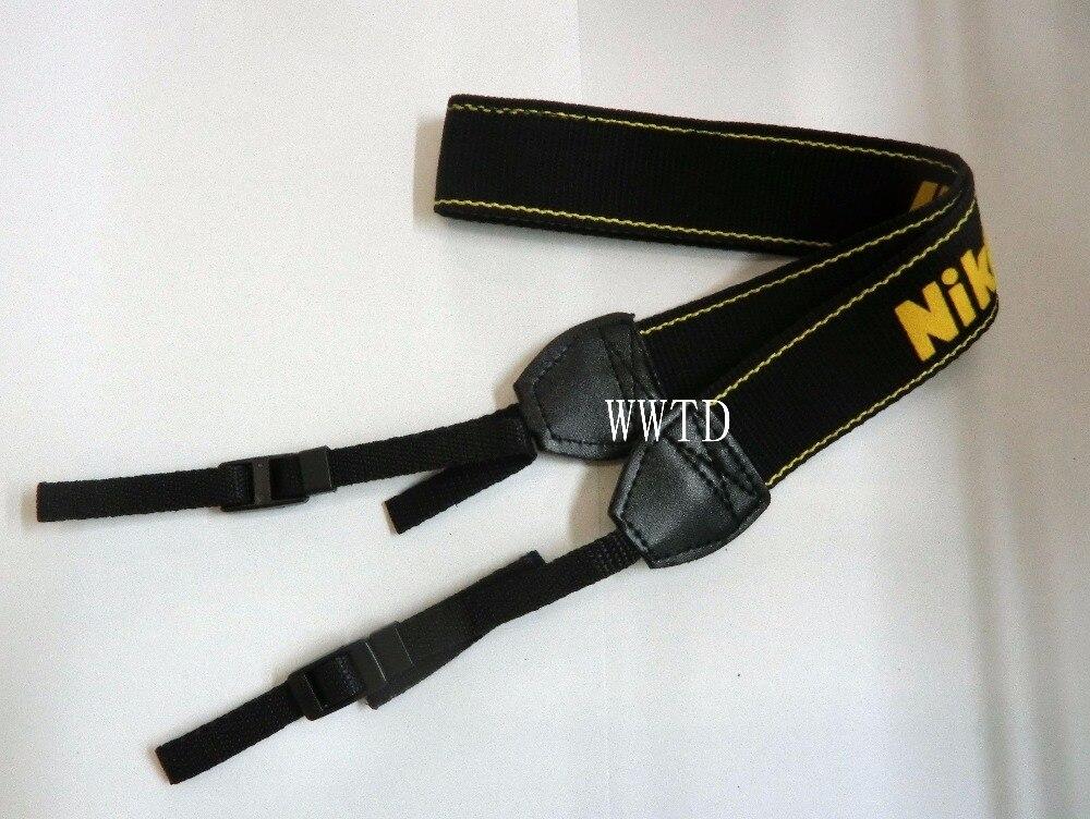 Correa para cuello y hombro para cámara, correa de cuello con Logo para Nikon D7000/D5000/D3100/D3000/D90/D70S