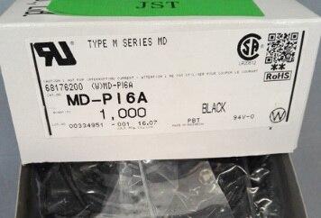 MD-PI6A BLACKE اللون موصلات محطات إيواء 100% ٪ أجزاء جديدة ومبتكرة