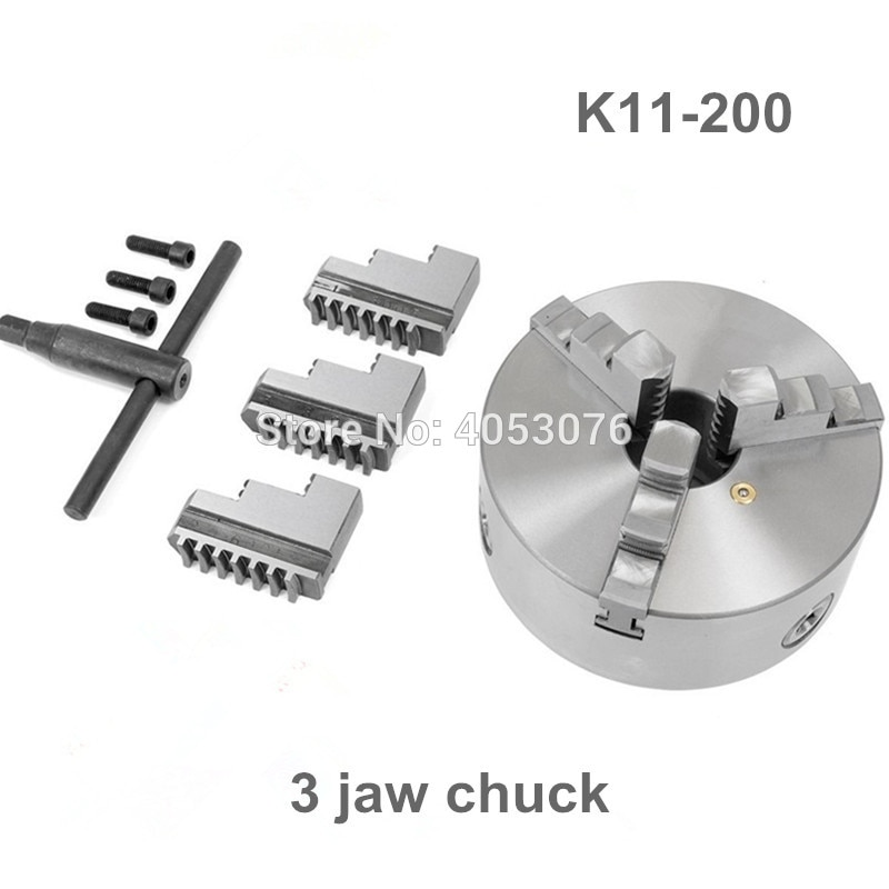 New CNC LATHE Chuck 3 Jaw Self-Centering 8