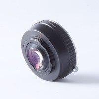 Focal Reducer Speed Booster Turbo adapter ring for R LR Lens to m4/3 mount camera GF6 E-PL6 GX1 GX7 EM5 EM1 E-PL5 BMPCC