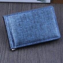 Superior Quality Women Men Men Bifold Business Leather Wallet ID Credit Card Holder Purse Pockets card wallet #C