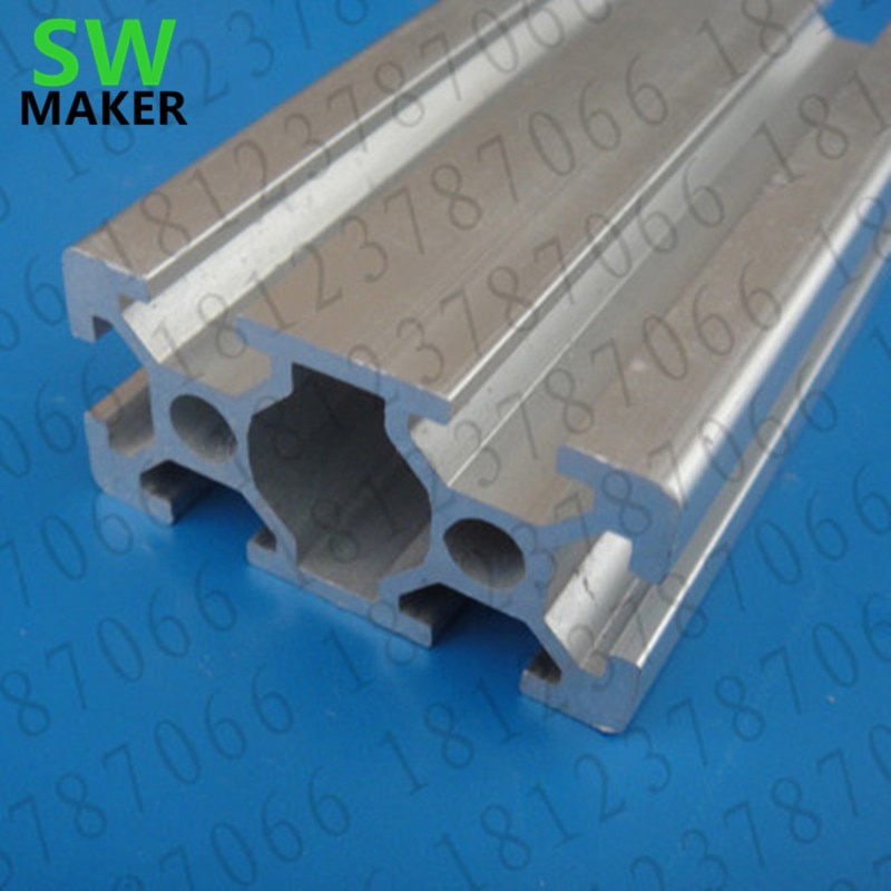 SWMAKER CNC DIY V-Slot 20x40 Linear Rail Aluminum profile 50 cm length 2040 Extrusions for DIY 3D printer