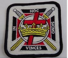 Logo de la franc-maçonnerie sur mesure   Patch brodé, Logo brodé des chevaliers des templar