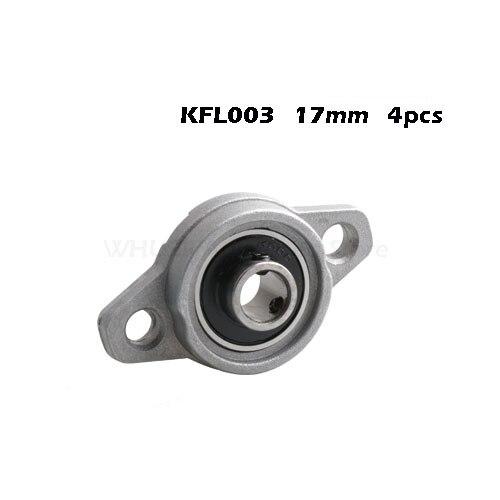 Zinc Alloy Pillow Block Flange Bearing Inner Diameter Machinery Seat Belt Bearing KFL08 KFL000 KFL001 KFL002 KFL003
