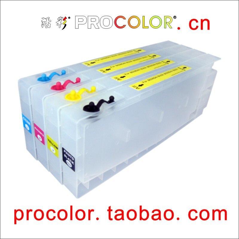 T6161-T6164 T6171 T6172 T6173 T6174 Refilable خرطوشة الحبر مع رقائق ARC لإبسون B500 B500DN B300 B510DN B510 DN B310N B310