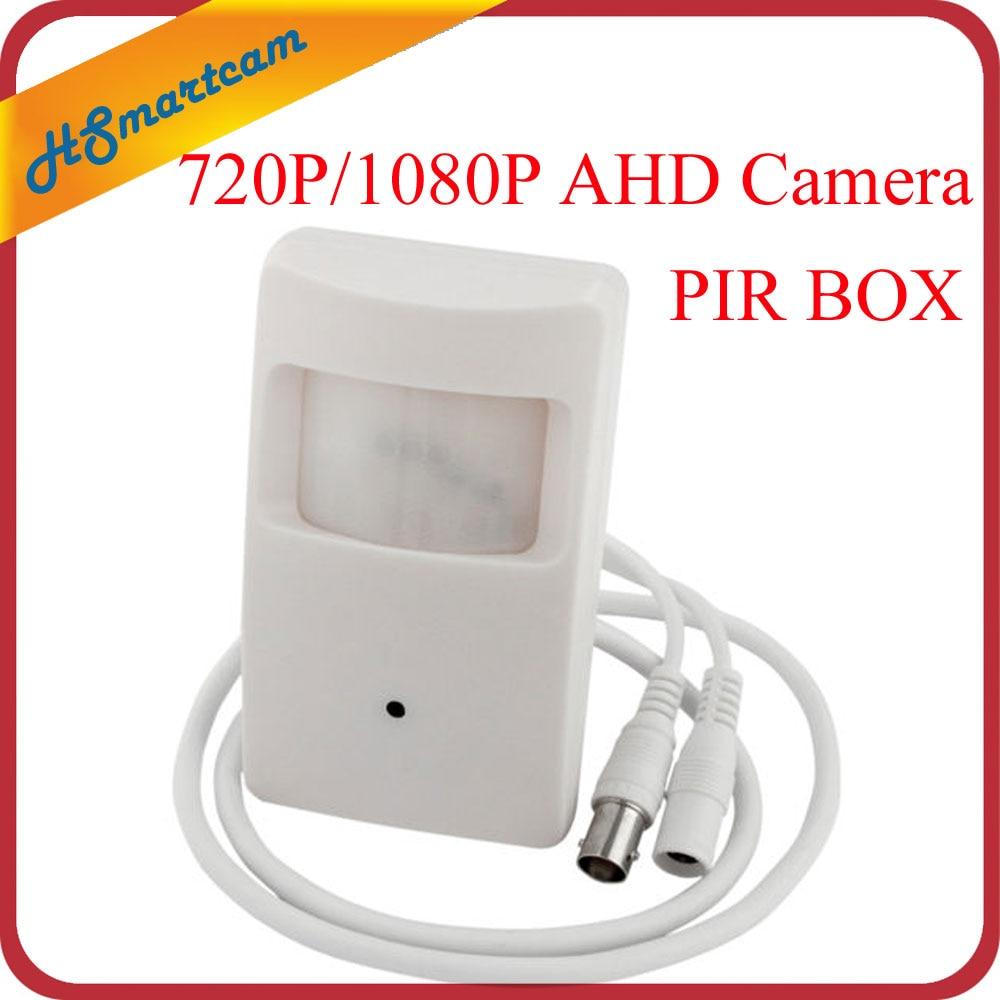 جديد HD AHD 1080P 2MP 3.7 مللي متر عدسة صغيرة صندوق صغير 720P AHD الأمن PIR محس حركة صندوق CCTV الأمن BNC كاميرا ل AHD DVR أطقم