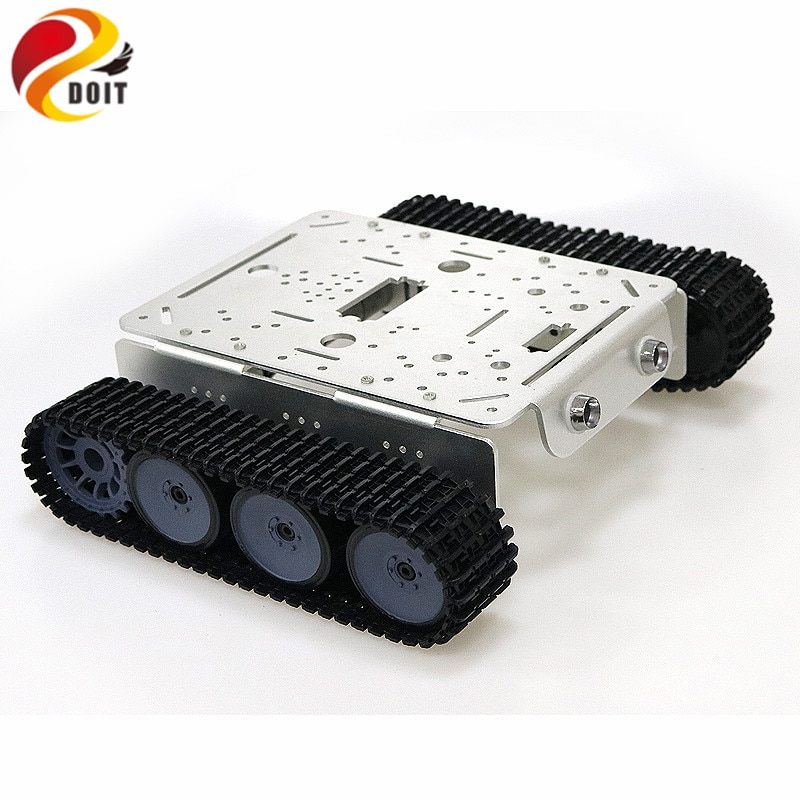 TP200 WiFi Robot Tank Chassis Robot Car Model Controlled By Android Apple Mobile Phone Based On Nodemcu ESP8266 Board Kit enlarge
